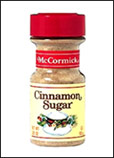 McCormick Cinnamon Sugar