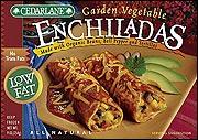 Cedarlane Low Fat Garden Vegetable Enchiladas
