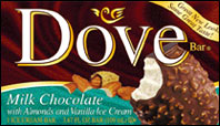 Dove Milk Chocolate with Almonds Ice Cream Bar
