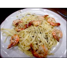 Shrimp Scampi with Pasta, Average