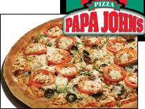 Pizzamania restaurant tips tricks picks - Papa john s pizza garden fresh pizza ...