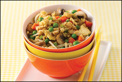 HG's Veggie-rific Fried Rice