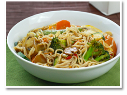 Hungry Girl's Veggie So Low Mein