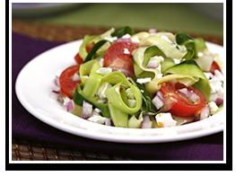 Hungry Girl's Zucchini-Ribbon Salad