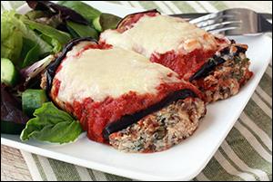 Hungry Girl's Meaty Cheesy Rollatini