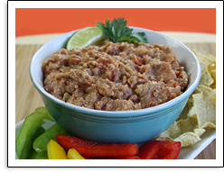 Hungry Girl's Turkey-rific Taco Bean Dip