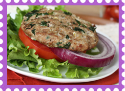 Hungry Girl's Unique Greek Turkey Burgers