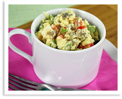 Hungry Girl's Veggie Eggs-plosion Mug