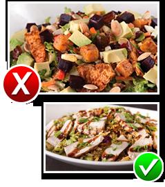 California Pizza Kitchen Full Moroccan Spiced Chicken Salad