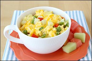 Hungry Girl's Home Fries Egg Mug