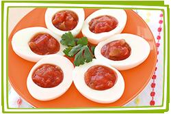 Hungry Girl's Salsa-fied Egg White Bites