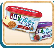 Jif Whips Peanut Butter Spread