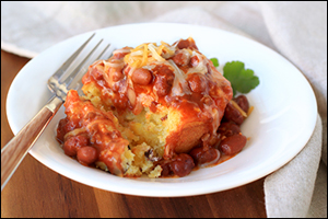 Hungry Girl's Chili-Topped Southwest Corn Muffins