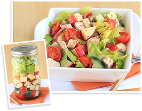 Hungry Girl's Fruity Bacon Chicken Salad