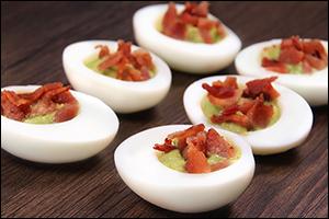 Hungry Girl's Bacon-Avocado Egg Bites