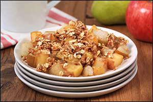 Hungry Girl's Apple-Pear Crumble