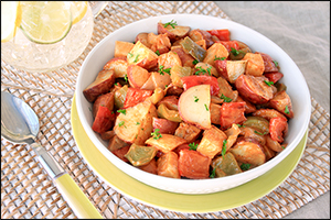 Hungry Girl's Warm & Spicy BBQ Potato Salad