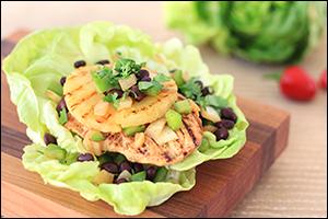 Hungry Girl's Jerk Chicken Lettuce Wrap