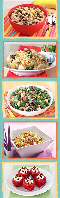 Healthy Recipes with Big Portion Sizes
