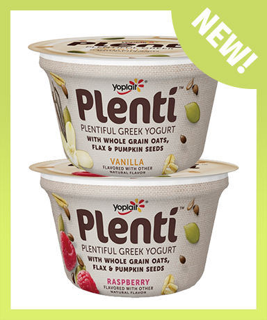 Yoplait Plenti Plentiful Greek Yogurt