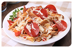 Best HG Potato Recipes: Pizza-mazing French Fries
