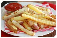 Best HG Potato Recipes: Baked Potato 'n Turnip Fries