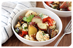 Best HG Potato Recipes: Warm Roasted Veggie Potato Salad