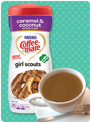 Coffee-mate Girl Scouts powdered creamer