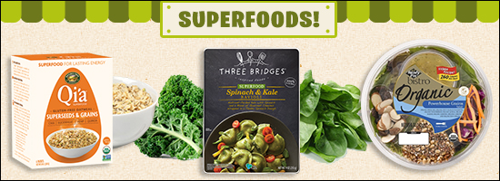 Food Trend: Superfoods on Shelves