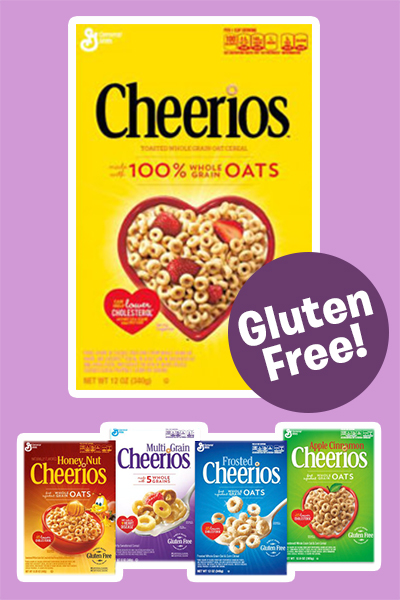 Five varieties of Cheerios are now officially gluten-free