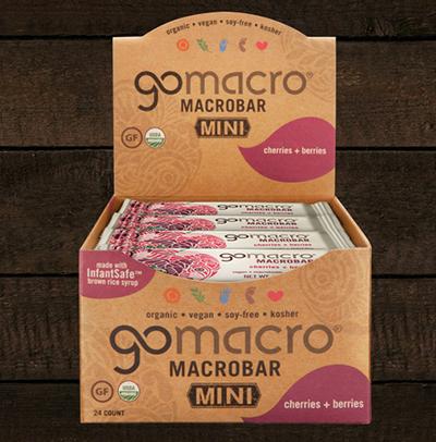 GoMacro Macrobar Minis