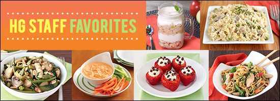 HG Staffers' Favorites Recipes