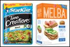 StarKist Tuna Creations + Old London Melba Toasts