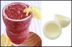 Tropical Cherry Smoothie + 2 hard-boiled egg whites