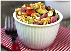 Hungry Girl's BBQ Veggie Pasta Salad