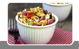 Hungry Girl's BBQ Veggie Pasta Salad