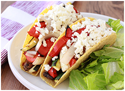 Hungry Girl's Hungry Grilled Veggie Tacos