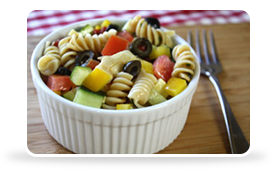 Hungry Girl's Picnic Perfect Pasta Salad
