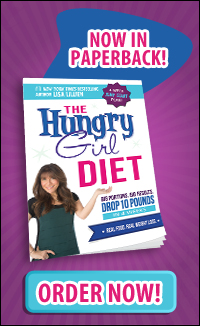 Now in paperback: The Hungry Girl Diet