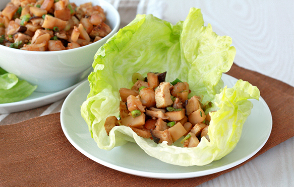 Healthy Chicken Amp Shrimp Lettuce Wraps Recipe Hungry Girl