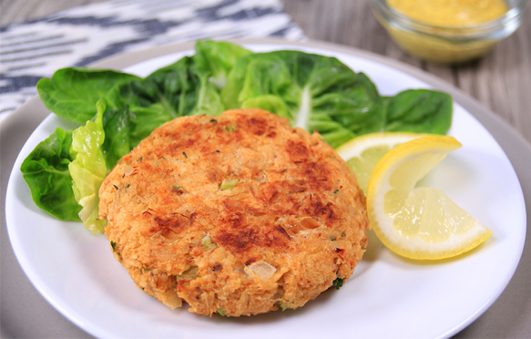 Low-Calorie Crab Cake Recipe