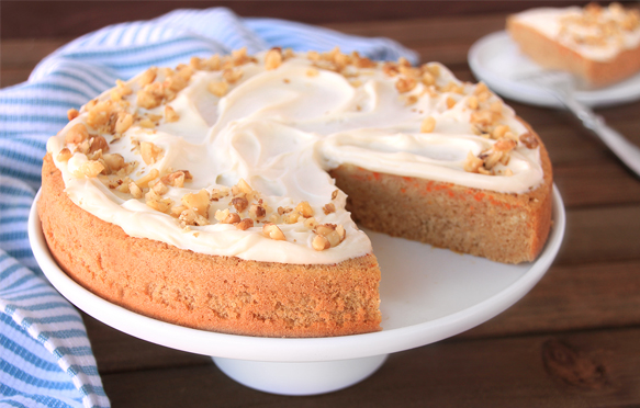Low Calorie Box Cake Mix Recipes: Low-Calorie Carrot Cake With Cream Cheese Frosting Recipe