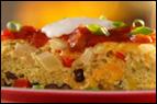 Southwestern Baked Omelette