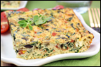 Spinach & Feta Egg Casserole