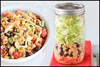 Taco Tuna Salad in a Jar
