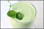 Vanilla Mint Shake