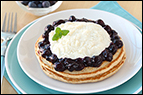 Blueberry Cannoli Pancakes Recipe
