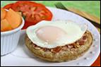 Egg-Topped Waffle Recipe