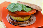 Pineapple Teriyaki Veggie Burger Recipe