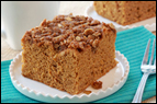 Pumpkin Streusel Coffee Cake Recipe